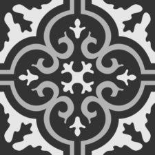 """מדבקות אריחי 15 ס""""מ לריצפה או למדרגות Tiles אפור"""