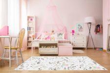 """שטיח ויניל מעוצב - גודל 70/120 ס""""מ דגם חד קרן"""