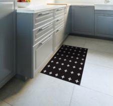 שטיח ויניל מעוצב - פלוס שחור