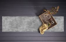 ראנר ויניל מבודד לשולחן דגם בטון