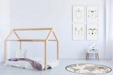 """שטיח ויניל עגול - קוטר 120 ס""""מ דגם גלובוס"""