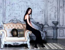 """שטיח ויניל מעוצב - גודל 60/170 ס""""מ דגם Ethnic bw"""