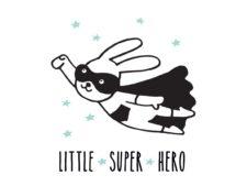 סט 5 פוסטרים למיסגור דגם Super Hero