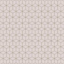 טפט מבוסס בד דגם גיאומטרי פודרה