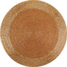 שטיח ויניל מעוצב עגול דגם Chaff