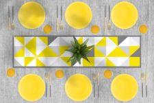 ראנר ויניל מבודד לשולחן דגם Sunrise