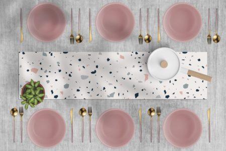ראנר ויניל מבודד לשולחן דגם טרצו 02
