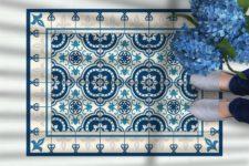 שטיח ויניל מעוצב - דגם מארחבה