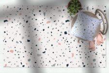 שטיח ויניל מעוצב - דגם טרצו 02