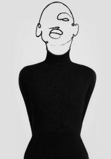 פוסטר למיסגור - Black Woman