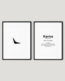 Karma - זוג פוסטרים