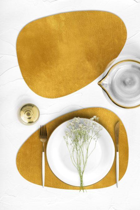חדש! פלייסמט צורני מעוצב עמיד בחום - דגם Gold