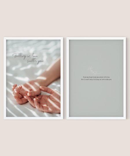 In love - זוג פוסטרים
