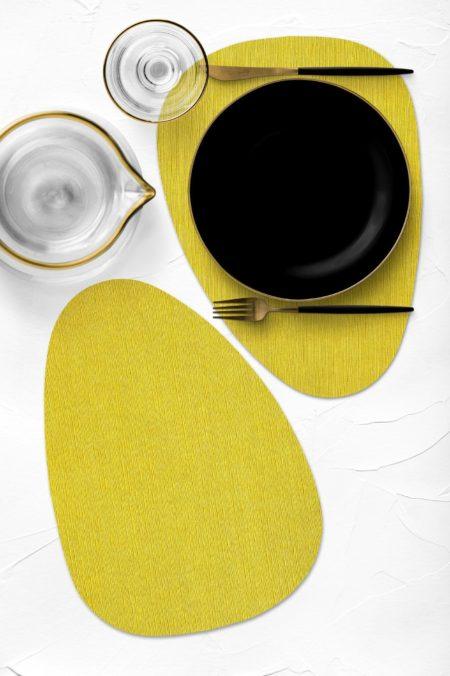 חדש! פלייסמט צורני מעוצב עמיד בחום - דגם Yellow