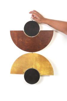 Wall Jewellery - Golden Arc