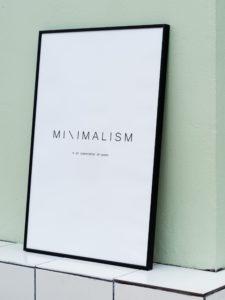Minimalism - פוסטר להורדה