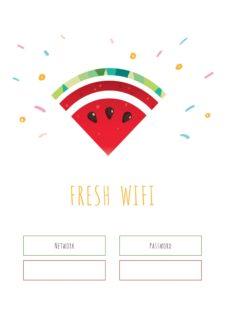 WIFI FRESH - פוסטר להורדה