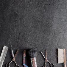רקע לצילום של DE'ZEN דגם Black brush 70100