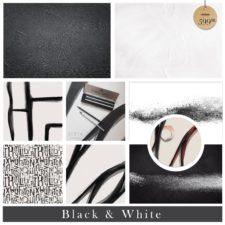 מארז רקעי צילום דגם Black & White