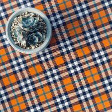 רקע לצילום של DE'ZEN דגם Orange tartan 4545