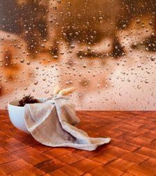 רקע לצילום של DE'ZEN דגם Rainy window 5070