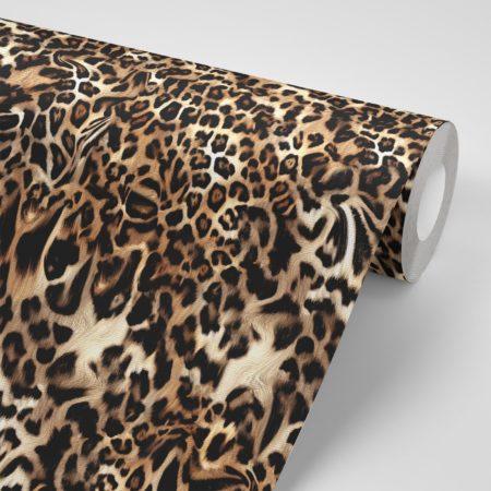 טפט מבוסס בד דגם Leopard