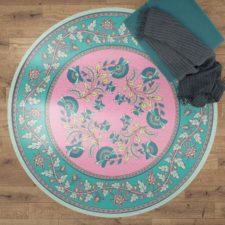 שטיח ויניל מעוצב עגול דגם MIKA