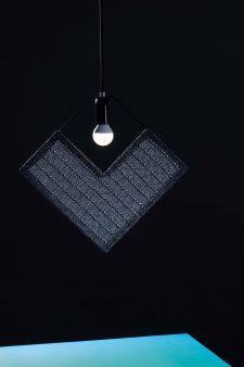 גוף תאורה מעוין דו ממד – רשת